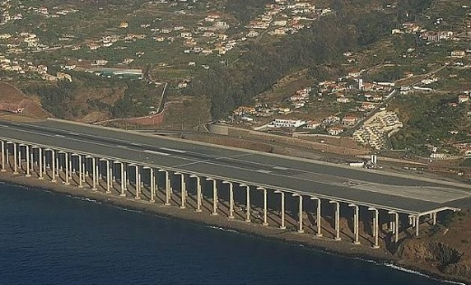 Vliegveld Madeira
